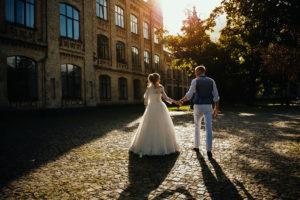 Свадебные фотографии цветные