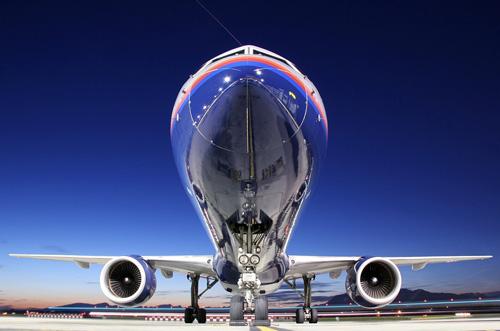 как фотографировать самолет на земле