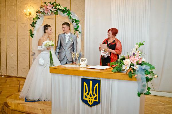 деснянский загс фото церемонии