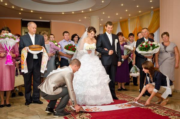 днепровский загс фото церемонии