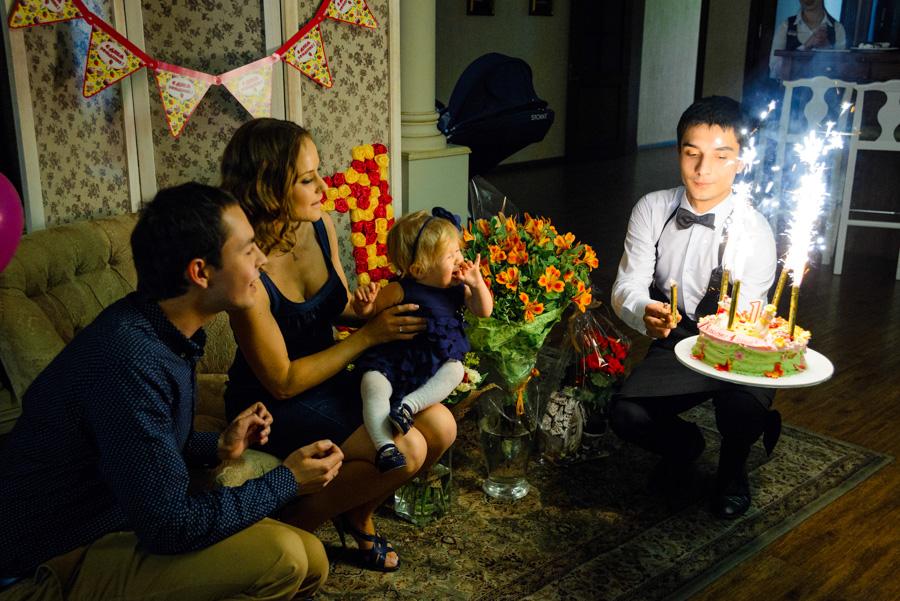 детский день рождения 1 год ресторан орли
