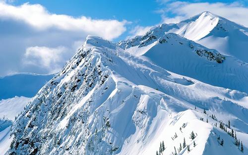 горный хребет фото