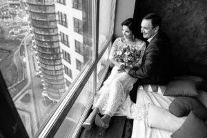Свадебные фотографии черно-белые