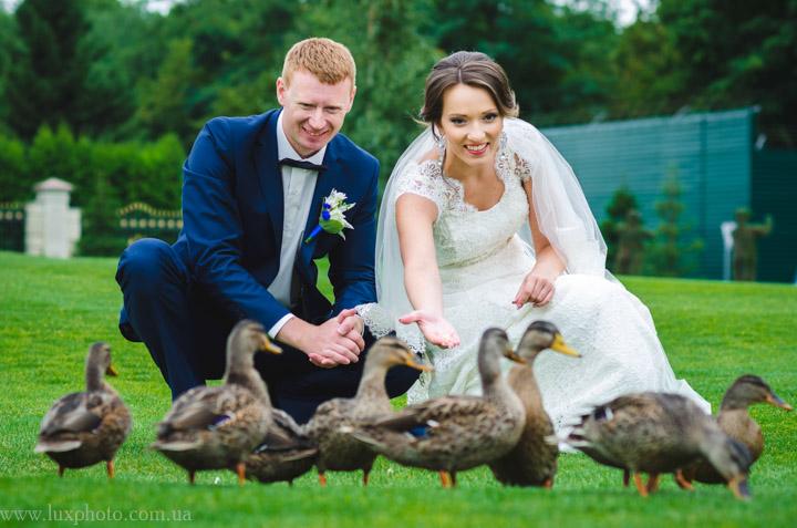Фотосъемка свадьбы в Межигорье