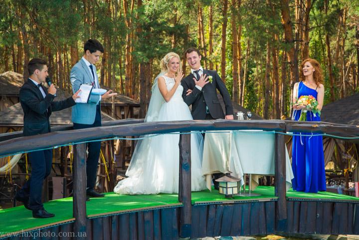 Выездная церемония в Разгуляево