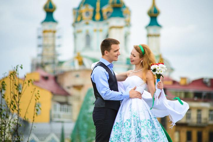 Свадебная фотосессия на Подоле