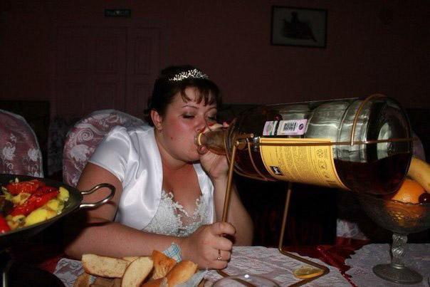 ужасное свадебное фото