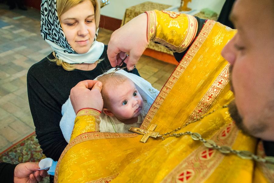 михайловский собор крестины фото