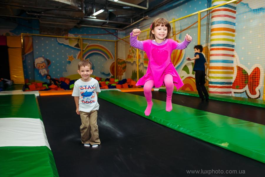 Fly Park детский праздник фото