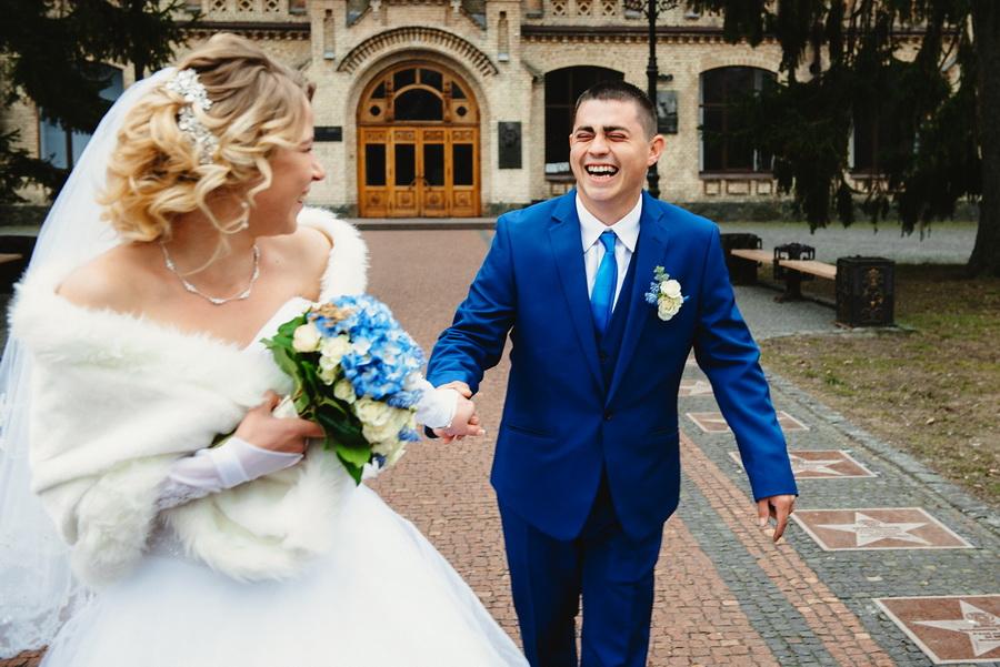 свадебная фотосессия в парке кпи март