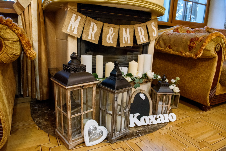 декор для свадьбы