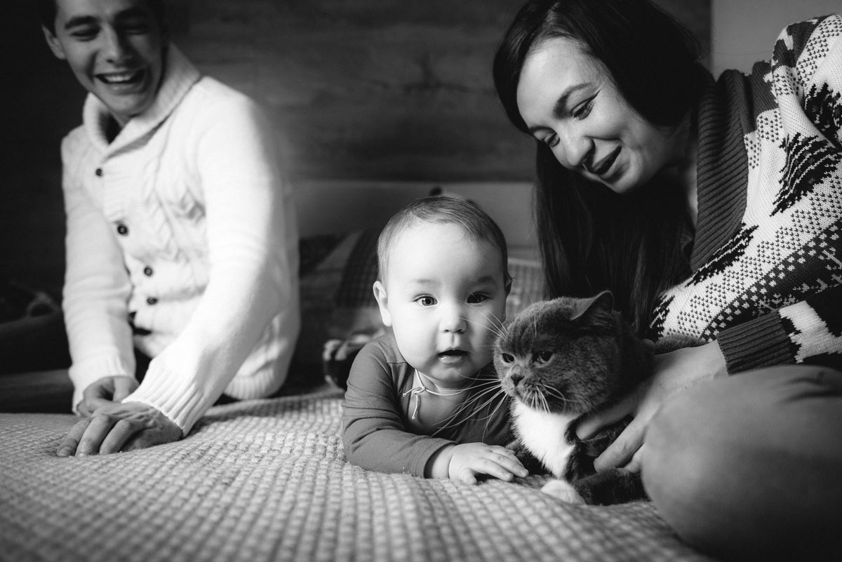семейная фотосессия в киеве в квартире