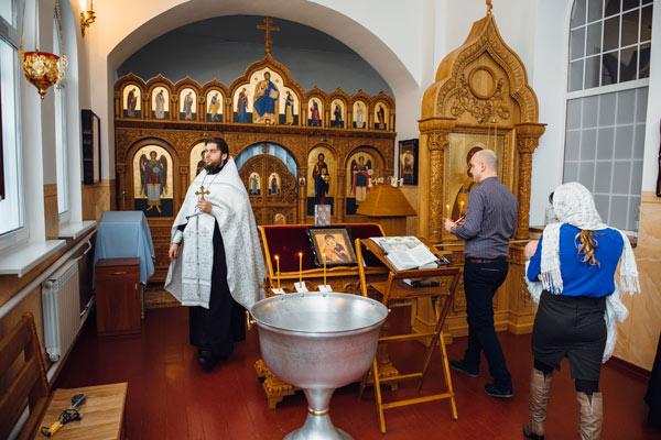 крестины пантелеймоновский собор феофания