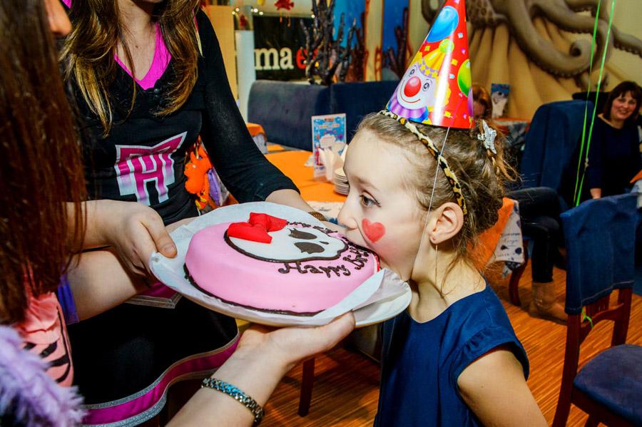 Ocean Plaza детский праздник торт