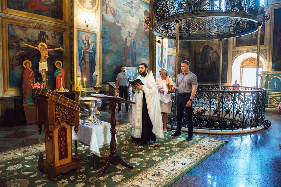 Крестины Михайловский Собор