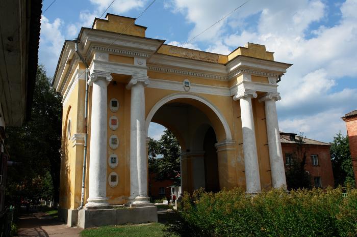 триумфальная арка чернигов