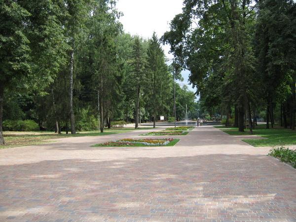 Чернигов центральный парк
